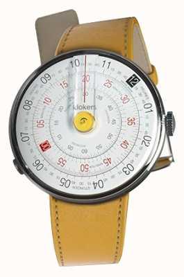 Klokers Klok 01 gelb Uhrenkopf Newport gelb einzelner Gurt KLOK-01-D1+KLINK-01-MC7.1