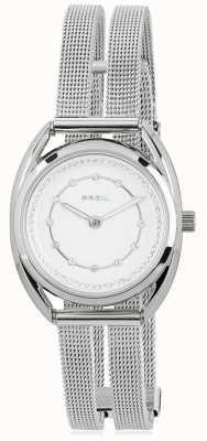 Breil Petit Edelstahl Silber Kristall Zifferblatt TW1652