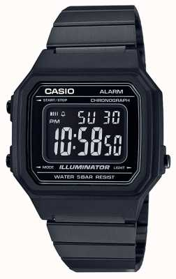 Casio Vintage Core Classic Digital Illuminator schwarz ip beschichtet B650WB-1BEF