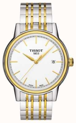 Tissot Carson Herren Quarz zwei Ton Swiss Made Datum T0854102201100