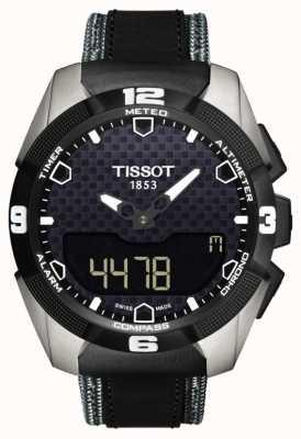 Tissot Herren T-Touch Experte Solar Titan Twin Sensor Leder T0914204605101