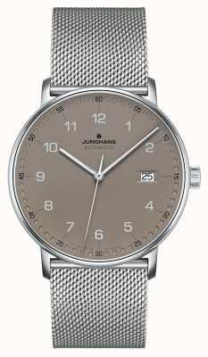 Junghans Bilden Sie ein automatisches Milanese-Ineinander greifenarmband 027/4836.44