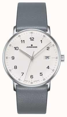 Junghans Armbanduhr aus Quarz-Kalbsleder 041/4885.00