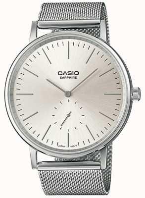 Casio Saphir-Edelstahl-Armband LTP-E148M-7AEF