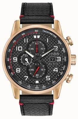 Citizen Herren Sport Chronograph Datumsanzeige 24-Stunden-Nebenzifferblatt CA0683-08E