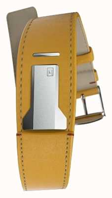 Klokers Klink 01 newport gelbes Band nur 22mm breit 230mm lang KLINK-01-MC7.1