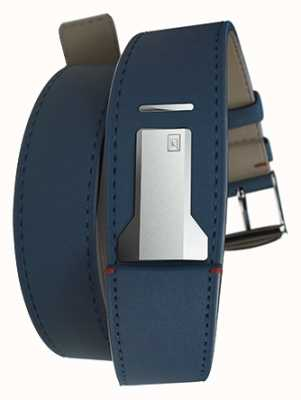 Klokers Klink 02 indigoblaues Doppelarmband nur 22mm breit 420mm lang KLINK-02-420C3