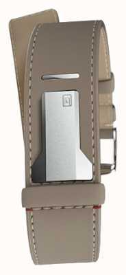 Klokers Klink 04 grege gerade Einzelgurt nur 22mm breit 230mm KLINK-04-LC9