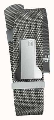 Klokers Klink 05 stahlgraues Milano Band nur 20mm breit 230mm lang KLINK-05-MC1