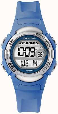 Timex Marathon Digital Sportuhr hellblaues Armband TW5M14400