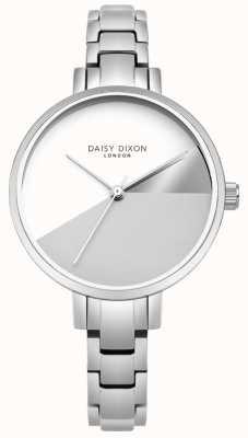 Daisy Dixon Damen Ava Silber drei Farben Zifferblatt Silber Stahlarmband DD065SM