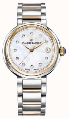 Maurice Lacroix Damen Fiaba Perlmutt Zifferblatt zweifarbig Armband FA1007-PVP13-170-1