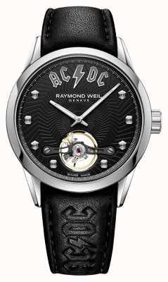 Raymond Weil Freelancer ACDC Limited Edition schwarzes Zifferblatt 2780-STC-ACDC1