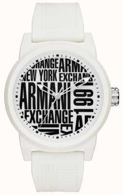 Armani Exchange Mens atlc Silikonband AX1442