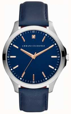 Armani Exchange Herren Hampton Lederband AX2406