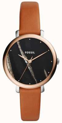Fossil Jacqueline-Lederarmband für Damen ES4378