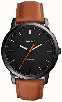 Fossil Mens das minimalistische 3h Lederband FS5305