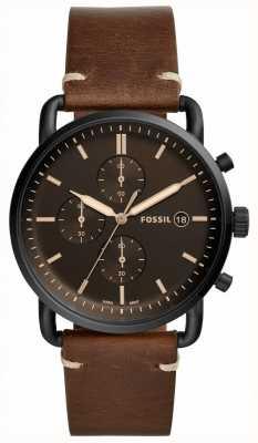 Fossil Pendler Lederband für Herren FS5403
