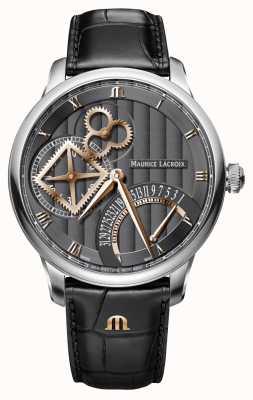 Maurice Lacroix Retrograde automatische Uhr des Meisterstückquadratrades MP6058-SS001-310-1