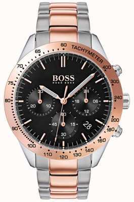 Boss Männertalent | roségold & silber edelstahlarmband | 1513584