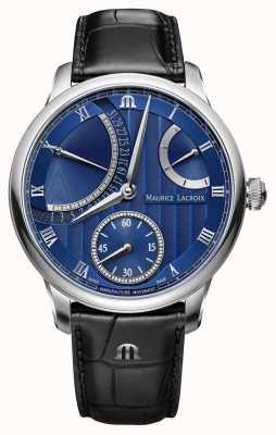 Maurice Lacroix Retrograde automatische Uhr des Meisterwerkkalenders MP6568-SS001-430-1
