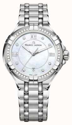 Maurice Lacroix Eliros Damen Mondphase Perlmutt Edelstahl EL1096-SD502-170-1