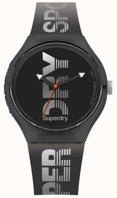 Superdry Urban XL Sport schwarz Silikonband SYG189B