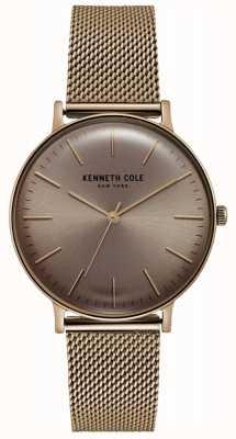 Kenneth Cole Roségoldfarbene Uhr aus Edelstahl KC15183002