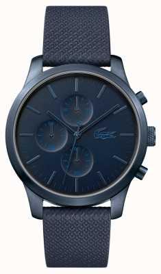 Lacoste Mens 12.12 85th Anniversary dunkelblaue Uhr 2010948