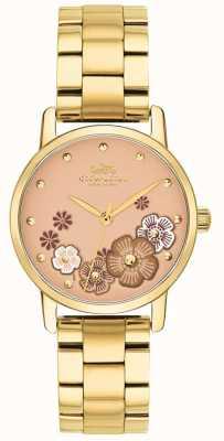 Coach Armband aus vergoldetem pvd-Material für Damen 14503056