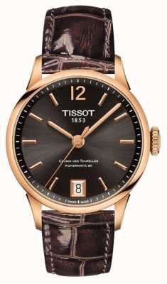 Tissot Womens chemin des tourelles powermatic 80 T0992073644700