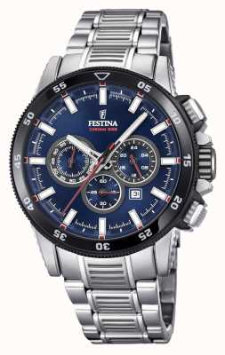 Festina Chronobike-Uhrarmbanduhr aus Edelstahl F20352/3