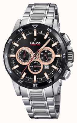 Festina Chronobike-Uhrarmbanduhr aus Edelstahl F20352/5