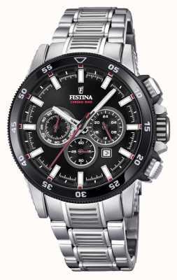 Festina Chronobike-Uhrarmbanduhr aus Edelstahl F20352/6