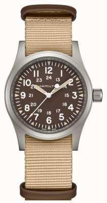 Hamilton Khaki Feld mechanische Nato-Armband H69439901