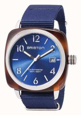 Briston Clubmaster Sportsymbole blaues Armband 17142.SA.TS.9.NNB