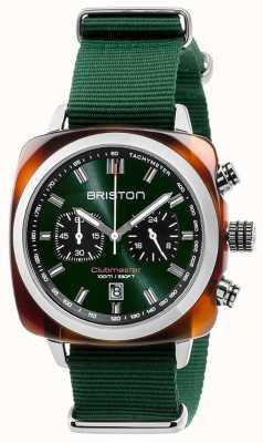 Briston Clubmaster Sport Icons grünen Riemen 17142.SA.TS.10.NBG