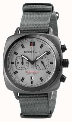 Briston Clubmaster Sport Nato Gurt grau 18142.SPG.SP.12.NG