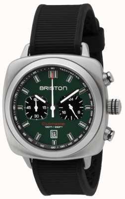 Briston Clubmaster sport britisch grün mattschwarzes Armband 16142.S.SP.16.RB