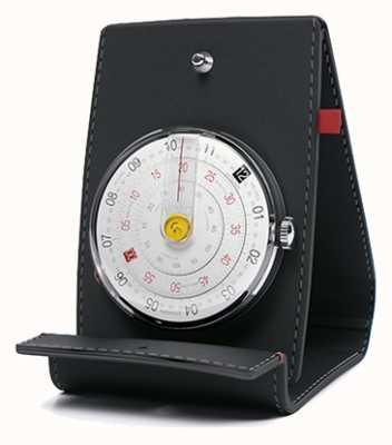 Klokers Klok 01 schwarzer Uhrenkopf & Tasche KLOK-01-D2+KPART-01-C2