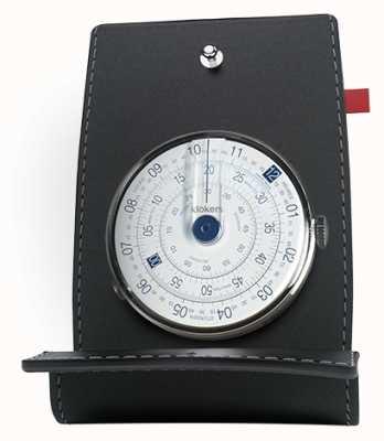 Klokers Blauer Uhrenkopftisch & -tasche Klok 01 KLOK-01-D4.1+KPART-01-C2