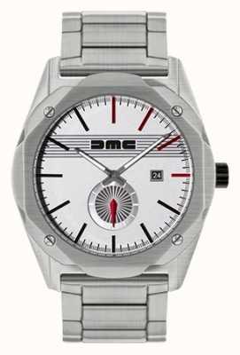DeLorean Motor Company Watches Das Traumstahl Edelstahl Silber Zifferblatt DMC-4