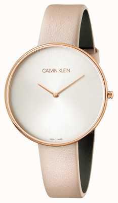 Calvin Klein Damen Vollmond rosa Leder K8Y236Z6