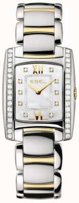 EBEL Damen Brasilia zwei Ton 18 Karat Gelbgold Diamant-Set 1215769