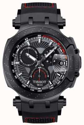 Tissot T-Race motogp Sonderedition schwarzes Kautschukarmband T1154173706104