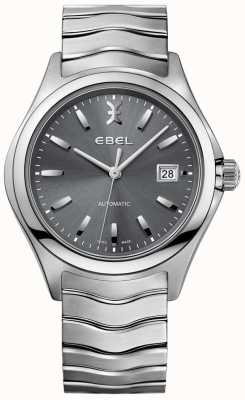 EBEL Herren automatische Welle grau Zifferblatt Datumsanzeige aus Edelstahl 1216266