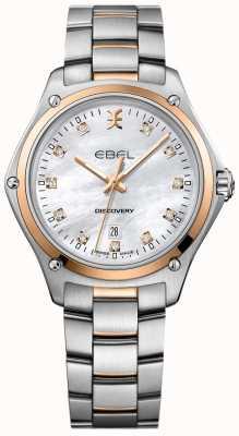 EBEL Frauen Diamant Entdeckung Perlmutt Edelstahl 1216397