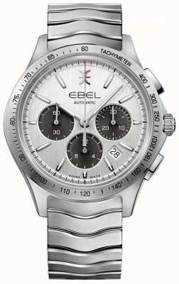 EBEL Automatisches Chronograph-Tachymeter-Silberzifferblatt der Männer 1216403