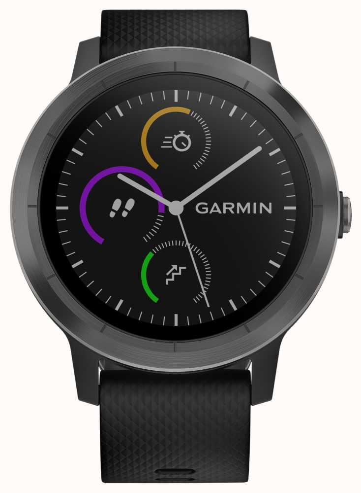 garmin vivoactive 3 stunden multisport tracker schwarz. Black Bedroom Furniture Sets. Home Design Ideas
