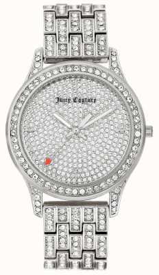 Juicy Couture Silberarmband aus Edelstahl für Damen JC-1045PVSV